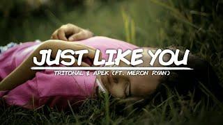 Tritonal - Just Like You (Lyrics) With APEK Ft. Meron Ryan