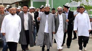Аалилбейт (Хамиджан Каары) атындагы мечиттин ачылыш аземи 2-болук Кыргызстан, Ноокат 25.05.2016
