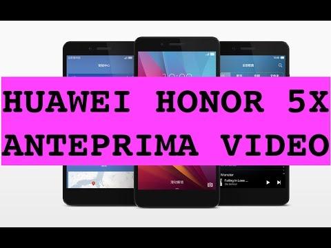 Anteprima Honor 5X
