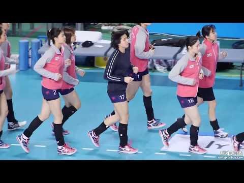 170330 여자프로배구 흥국생명 이재영 - 다른 선수들과 사이좋게 [직캠/FANCAM] # 이다영