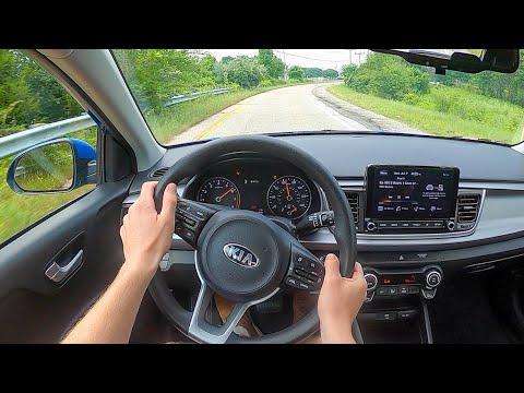2021 Kia Rio Hatchback S - POV Test Drive (Binaural Audio)