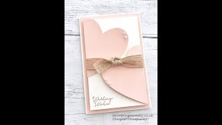 Intertwined hearts wedding card RELOADED !!