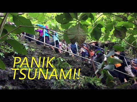 PANIK NAIK GUNUNG SELOK! GEMPA DI PANTAI SODONG Cilacap Jateng