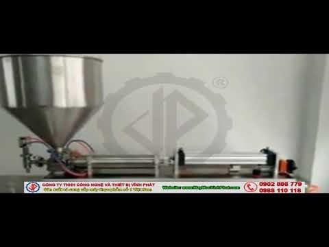 Máy chiết rót 1 vòi định lượng bằng khí nén
