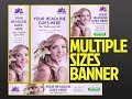 GOOGLE WEB DESIGNER - HOW TO CREATE DIFFERENT SIZE BY A TRICK - TUTORIAL #TRENDING