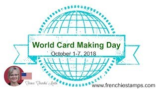 World Card Making Day Promotion