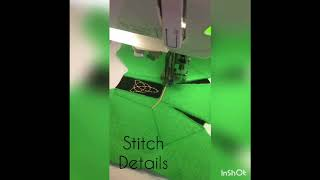 In The Hoop Irish Dancer Dress For Embroidery Machines - By The Applique Place
