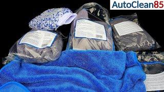 Waschen Detailing Polieren/Licargo Microfaser + Waschhandschuh/Tücher die man immer gebrauchen kann!