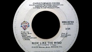 Christopher Cross ~ Ride Like The Wind 1979 Disco Purrfection Version