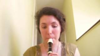 My Interpretation on Recorder of Guide Me, Oh Thou Great Redeemer Charlotte Church