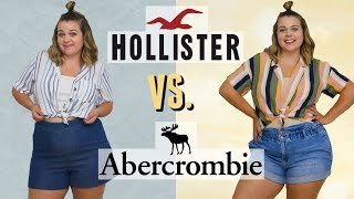$100 Outfit Challenge At Hollister Vs. Abercrombie!