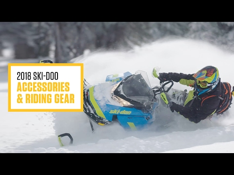Ski-Doo 2018 -Riding Gear and Accessories-