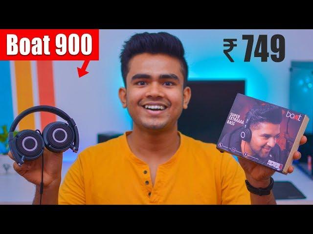 Boat Bass Head 900 Unboxing & Review | Best Headphones Under 1000