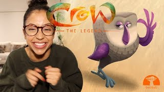OUR FREE ANIMATED MOVIE! CROW: THE LEGEND | John Legend, Oprah, Liza Koshy