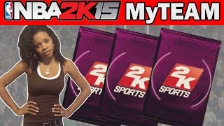 NBA 2K15 My Team Pack Opening - WIFEY DABBLE CHEESE! | NBA 2K15 Pack Opening