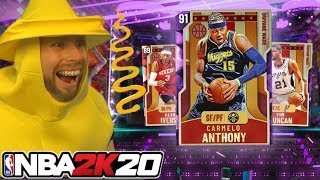 my first myTeam pack opening of NBA 2K20