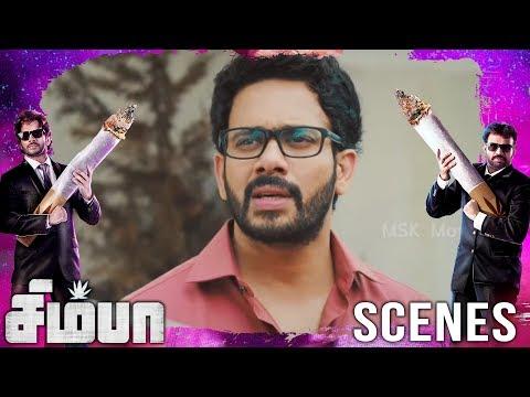 Simba meets antony and arguing about his girlfriend | Simba(சிம்பா) Movie Scenes | Bharath, Premgi