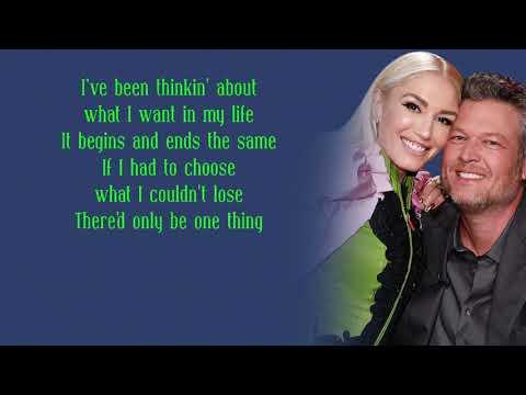 Blake shelton & Gwen Stefani - Nobody But You (Lyrics)