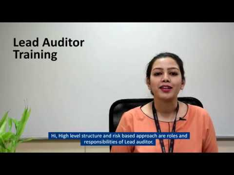 ISO 9001 Lead Auditor Training I ISO 9001:2015 Certification ...