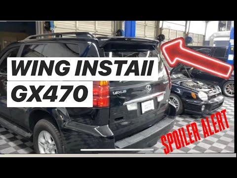 GX470 WING INSTALL DIY