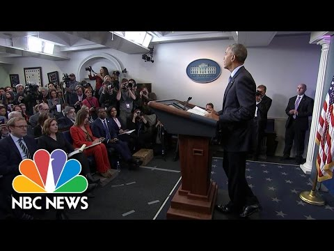 President Obama Praises Free Press: 'Our Democracy Needs You' | NBC News