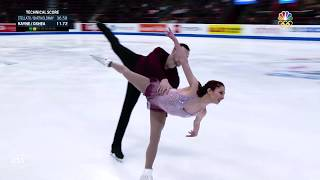 Tarah Kayne and Danny O'Shea's Short Program | Champions Series Presented By Xfinity