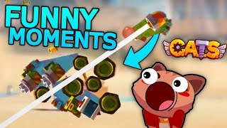 FUNNY MOMENTS & BEST BATTLES - C.A.T.S: Crash Arena Turbo Stars Montage
