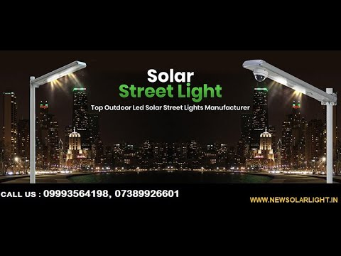 Solar LED Street Light (9Watt)
