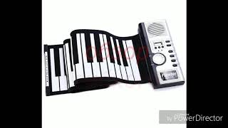 Обзор гибкого пианино цифрового. ROLL-UP  61 клавиша.
