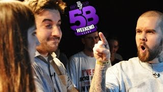 Don't Flop Rap Battle | MOS PROB & RAPUNSELL VS EEK & ENIGMA