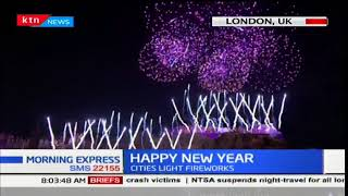 Cities around the world usher in 2018 with a beautiful display of fireworks