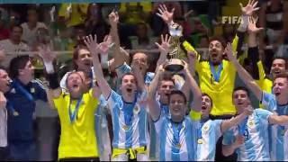 نهاية كأس العالم للفوتسال Colombia 2016