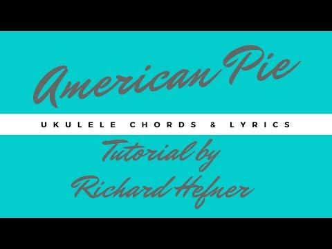american pie ukulele strumming with chords and lyrics. Black Bedroom Furniture Sets. Home Design Ideas
