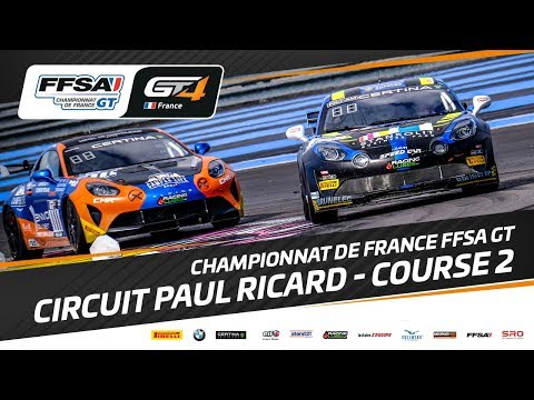 Championnat de France FFSA GT –Circuit PAUL RICARD – Course 2