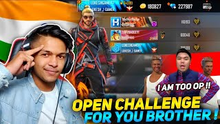 Buying 40,000+++ Badges First Indian Youtuber 2,50,000 Diamonds Challenge For You Sultan Free Fire
