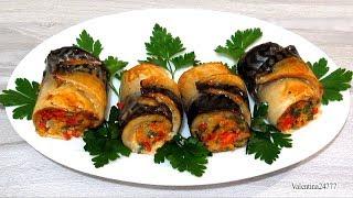 Скумбрия в Духовке Рулетики из Скумбрии с Овощами Очень Вкусно Рецепт