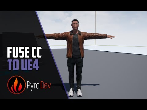 Unreal Engine 4 – Fuse CC Import