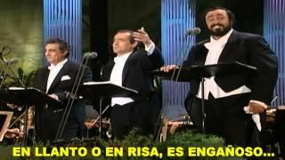 Los 3 Tenores- La Donna E Mobile (Subtitulada Español) HD (Los Ángeles: 1994)