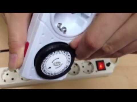 Инструкция по эксплуатации механического таймера