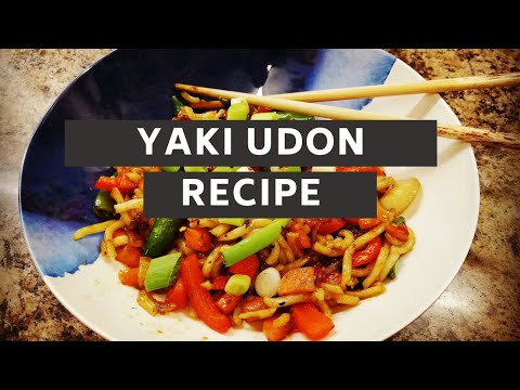 How to make YAKI UDON | Cooking recipe | EASY