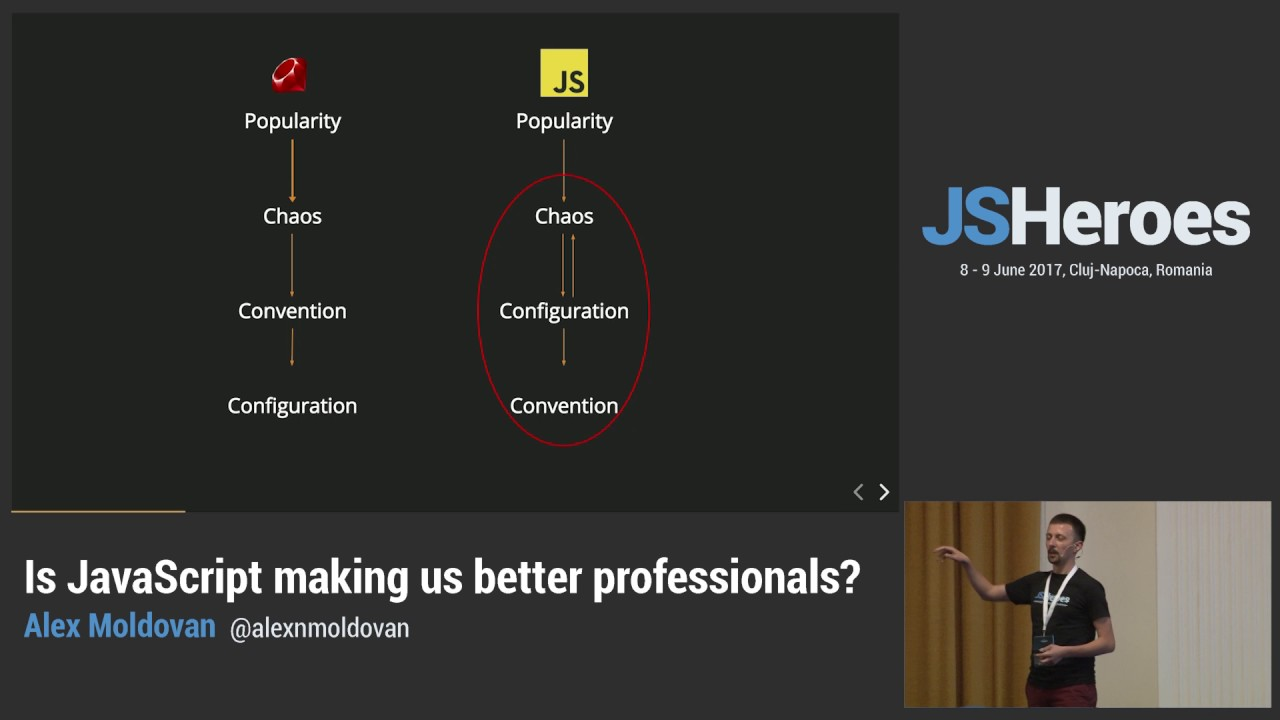 Is JavaScript Making Us Better Professionals?