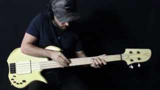 Lorita Miki Santamaria Signature Bass - Extreme Slap & Tapping Bass Solo