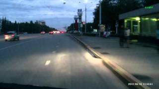 ДТП с участием мотоцикла (Уфа) | An accident with a motorcycle