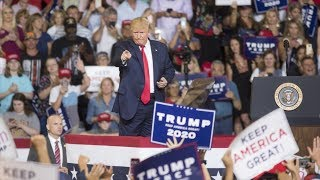 video: Trump rally crowd chants 'send her back' as president attacks congresswoman Ilhan Omar