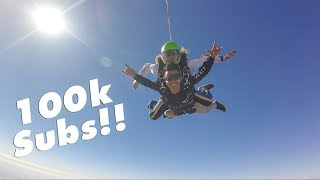 Illiminate Crew Skydiving For 100k Subs!!!
