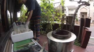 鎌倉材木座の古民家ゲストハウスでタンドール調理。ゲストハウス亀時間