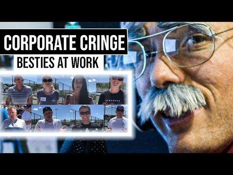 Corporate Cringe - Besties at work [BONUS SKIT AT THE END] #grindreel