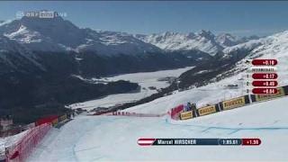 Ski-WM Kombi Abfahrt: Marcel Hirscher (AUT) LAUF | Herren