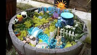 Most Beautiful 60 Mini Fairy Gardens