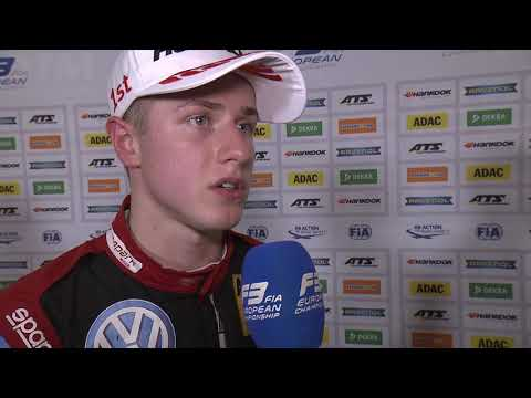 #F3 - Race of Hockenheim - Jüri Vips' interview after Race 2